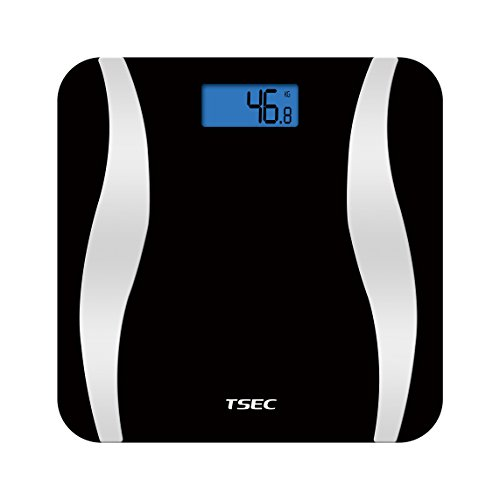 ETTG TT-538B Bluetooth Smart Body Wireless Digital Fat Scale with Smartphone Tracking Health & Fitness Apps for iOS/Android