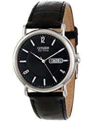 Citizen BM8240 03E Eco Drive Stainless Leather