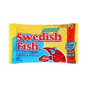 Swedish fish red fish candy 16 ounce 20 for Swedish fish amazon