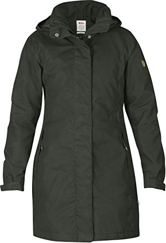 Fjäll Räven Una Jacket, Damen Mantel, 032 mountain grey - grau - M
