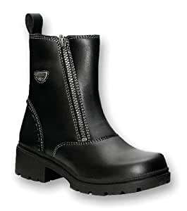 Milwaukee Motorcycle Clothing Company Womens Destiny Boots (Black, Size 7.5)
