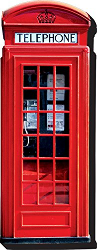 Aquarius London Telephone Booth Funky Chunky Magnet