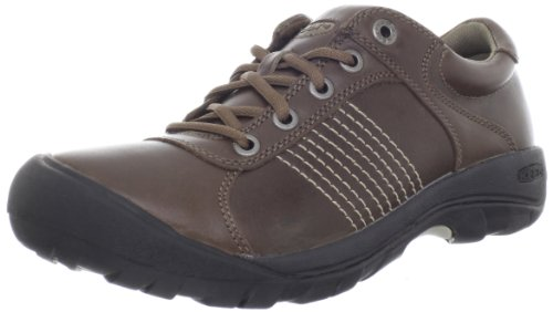 KEEN Men's Finlay Casual Shoe,Shitake Full Grain,11.5 M US