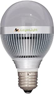 LED 60 Watt Incandescent Replacement: Cree Super Bright LED Light Bulb- Natural White