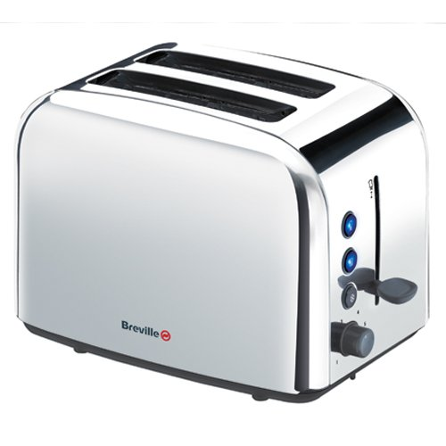 Breville VTT163 Polished Stainless Steel 2 Slice Toaster from Breville
