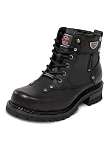 Milwaukee Motorcycle Clothing Company Men's Outlaw Motorcycle Boots (Black, Size 11EE)