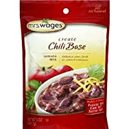 Precision Foods W537-J4425 Mrs. Wages Chili Tomato Mix Pack of 12