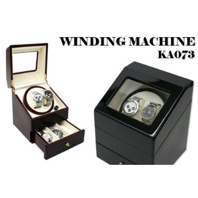 ツインワインディングマ scene two watch winder [Black] storage