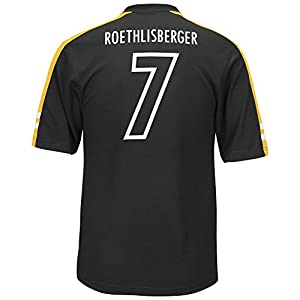Men's Synthetic Ben Roethlisberger Pittsburgh Steelers Jersey Player Tee from SteelerMania
