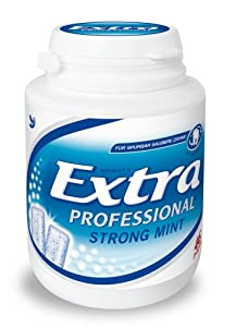 Extra Professional Strong Mint, 3er Pack (3 x 46 Dragees)