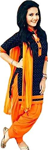 ShreeBalaji New Attective White Banglori Anarkali Style Gowan Dress Material
