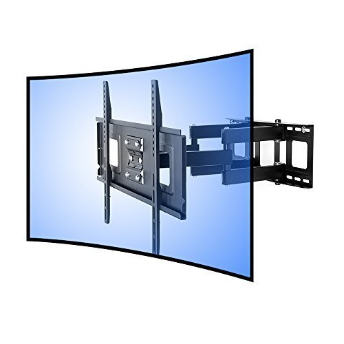 Fleximounts cr1 curved panel tv wall mount bracket for 32 for Samsung tv wall mount