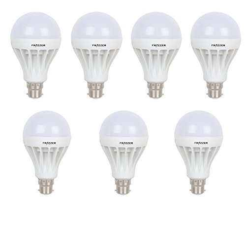 7 W LED Bulb (White, Pack of 7)