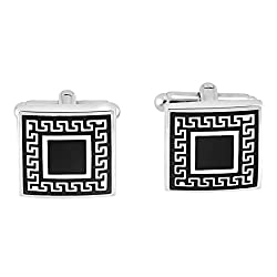 Park Avenue Black Men's Cufflinks