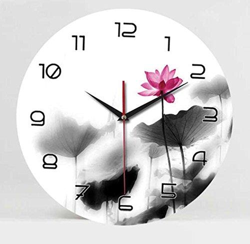 Moderno ed elegante colorata/Cornice foto orologio cinese campana campane fashion lotus/Home Cucina/Soggiorno Orologio da parete