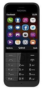 Nokia Asha 220 2.4 inch Sim Free Mobile Phone - Black