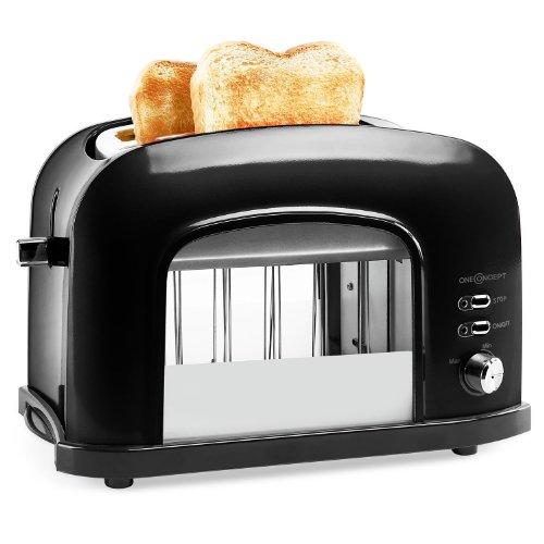 Doppelschlitz-Toaster mit Fenster