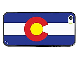 Cellet Proguard Case With Colorado Flag Design Case For Apple Iphone 5 - White
