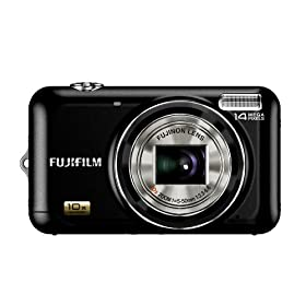 Fujifilm FinePix JZ500 14MP Digital Camera with 10x Wide Angle Optical Dual Image Stabilized Zoom and 2.7 inch LCD