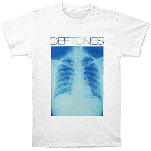 Tusgur Deftones Men's X-Ray 2013 Tour Slim Fit T-shirt White