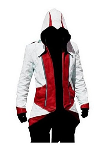 Cosplay Professional Assassin's Creed 3 Connor Kenway Hoodie Jacket