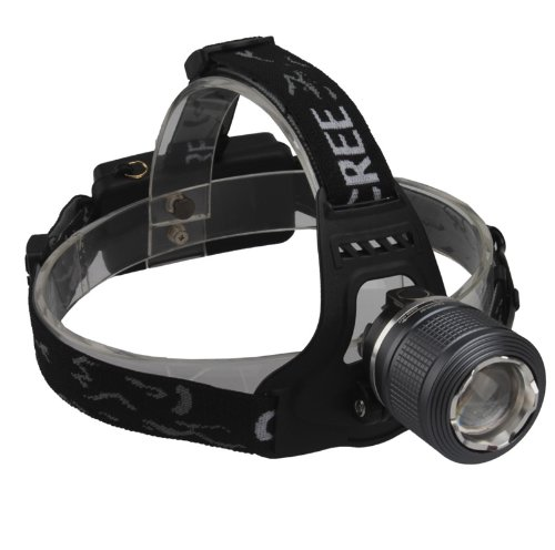 Singfire 2*Cree Xpe R2 Led Headlamp Headlight 400Lm Zoomable White/Green Light