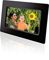 GPX PF711B 7-Inch Digital Photo Frame with SD/MMC Memory Card Reader by DPI