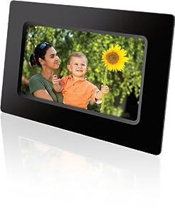 GPX PF711B 7-Inch Digital Photo Frame with SD/MMC Memory Card Reader by DPI