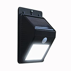 Xcellent Global Wireless LED Solar Powerd Security Motion Sensor Light, Wall/Garden Lamp M-LD014x by EU Xcellent Global