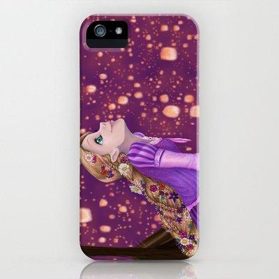Society6/ソサエティシックス iphone5ケース  ディズニープリンセス ラプンツェル