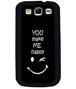 Fuson 2D Printed Quotes Designer back case cover for Samsung Galaxy S3 I9300 - D4290