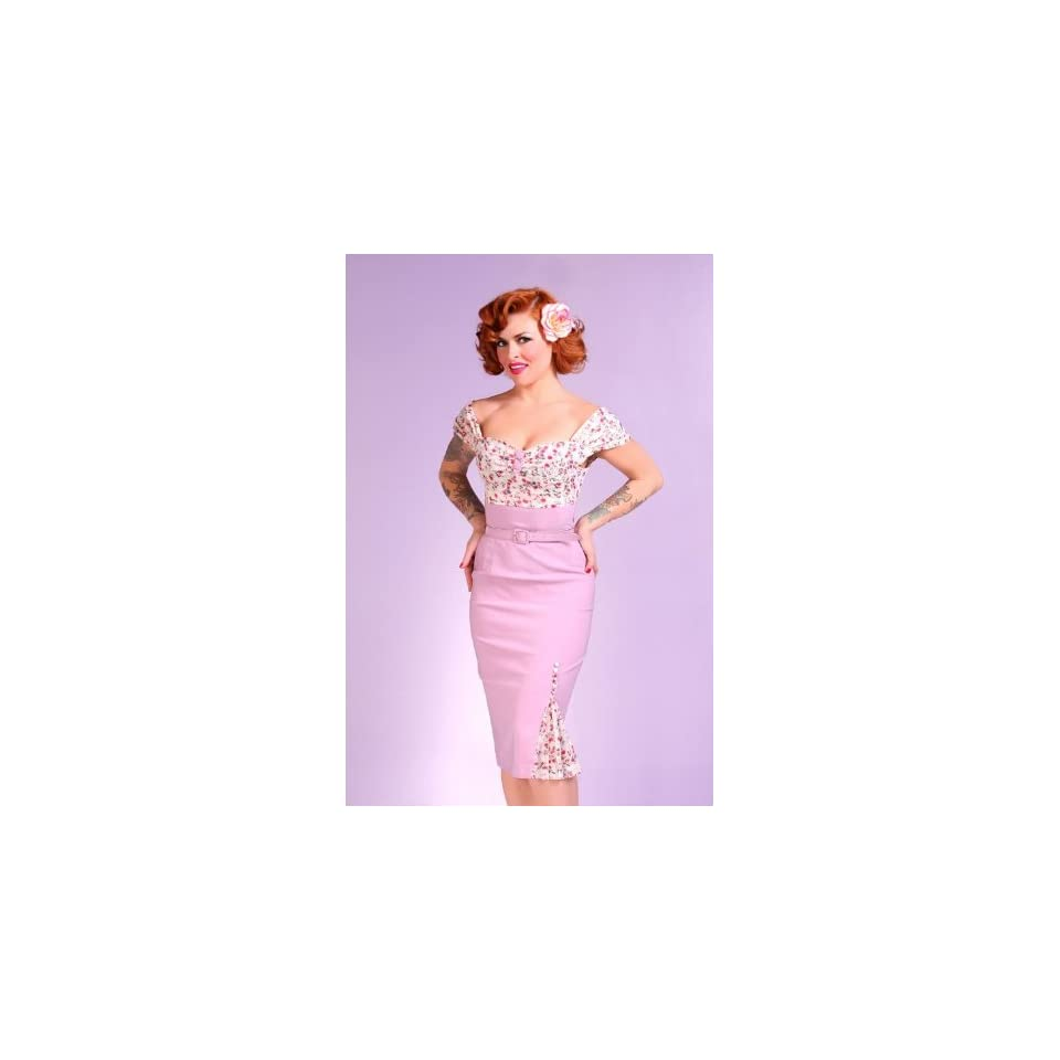 Bettie Page Clothing VIOLET Dress