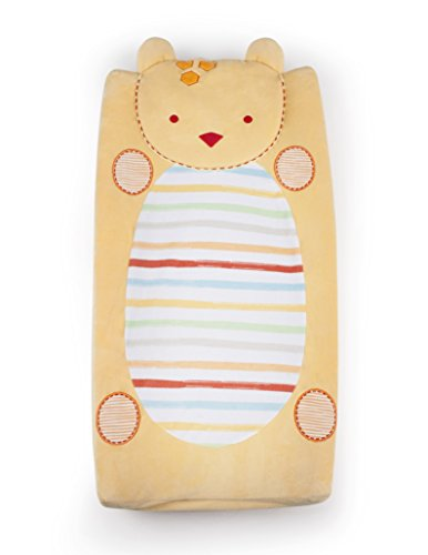 Kidsline Who's At The Zoo Changing Pad Cover, Plush