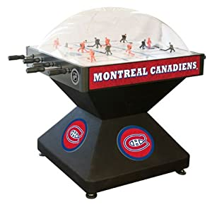 Montreal Canadiens Dome Bubble Hockey by Holland Bar Stool