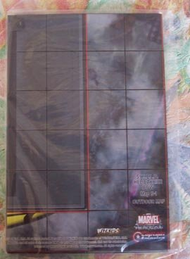 Neca Wizkids Marvel Heroclix Captain America Map Shield Helicarrier Bow LE - 1