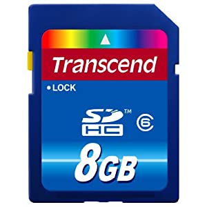 Transcend 8 GB 闪存卡