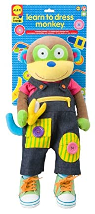 ALEX Toys Little Hands Learn To Dress…