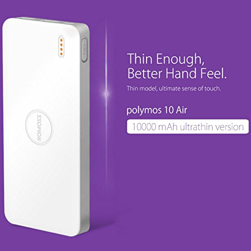 Romoss Polymos 10 AIR 10000mAh Ultra Thin Power Bank