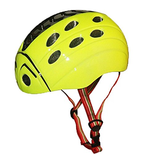 BeBeFun-Toddler-and-kids-BikeMulti-Sport-ladybug-style-hardshell-safty-Helmet