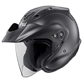 Arai Helmets CT-Z Open-Face Helmet - Black Frost - XL - 819134