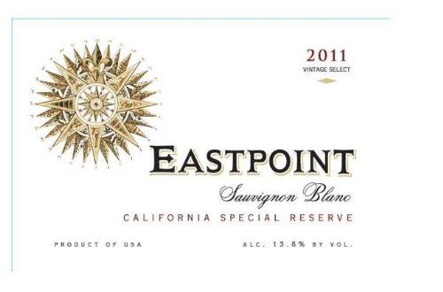 2011 Eastpoint Sauvignon Blanc California Special Reserve, 750 Ml