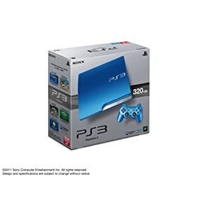 PlayStation 3 (320GB) �X�v���b�V���E�u���[ (CECH-3000BSB)