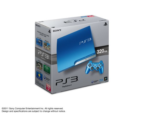 Playstation 3 [320Gb] Splash Blue Cech-3000Bsb [Japan Import] front-825246