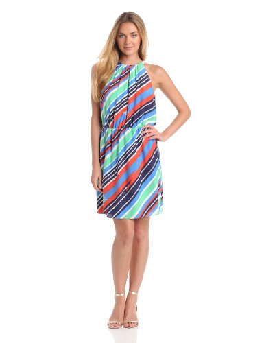 Lilly Pulitzer Women's Kennett Dress, Multi Overboard Stripe, Small