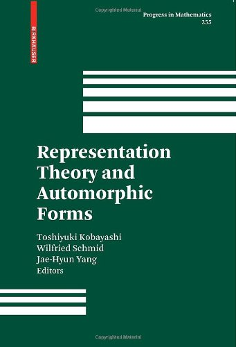 Representation Theory and Automorphic Functions: Representation Theory and Automorphic Forms