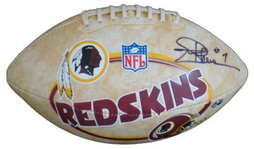Signed Joe Theismann Football - logo - Autographed Footballs