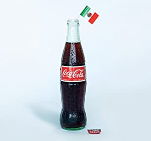 Mexican Coke Coca Cola 12-12oz (355ml) Glass Bottles Mexico