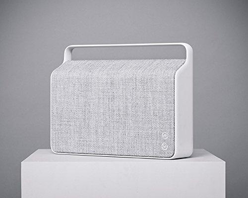 Vifa Copenhagen Hi-Resolution Bluetooth WiFi Wireless Portable Speaker - Pebble Grey