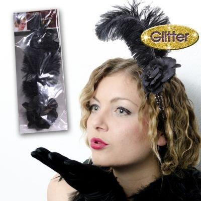 Feather Flower Fascinator - 1