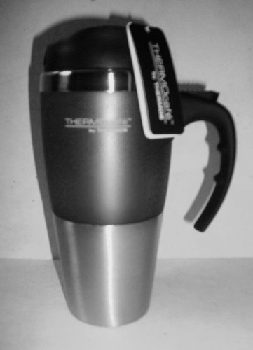 16 Oz Insulated Stainless Steel Travel Mug (Thermocafe By Thermos) Color May Vary front-873167